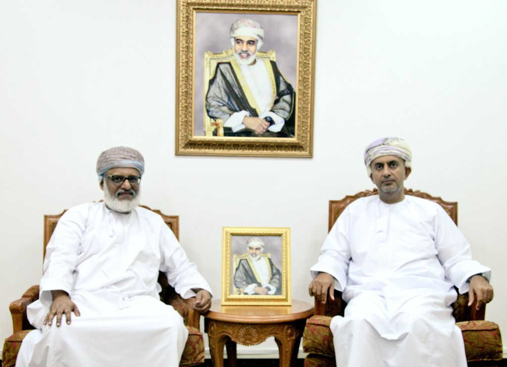 Minister of Commerce and Industry of Oman Meets Secretary General of GSO