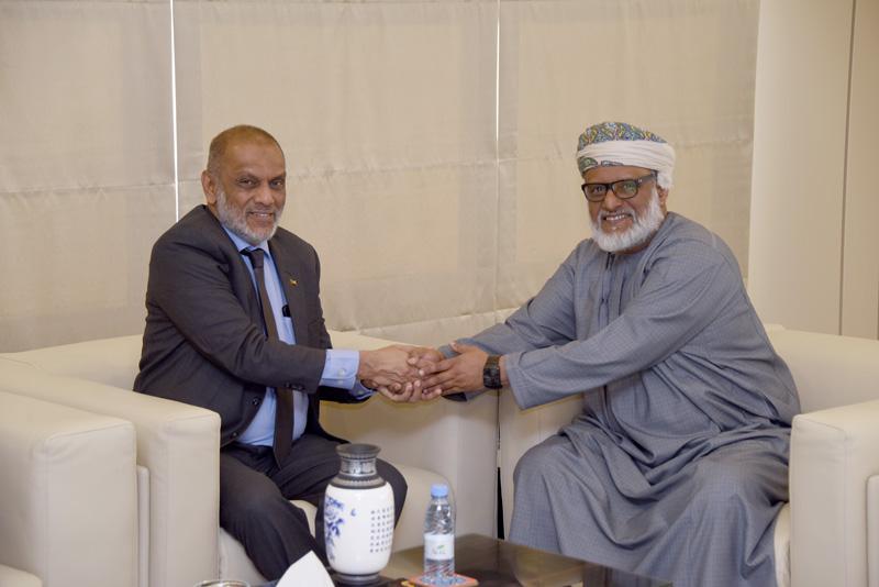 رئيس هيئة التقييس يستقبل سفير جمهورية سيرلانكا لدى المملكة العربية السعودية