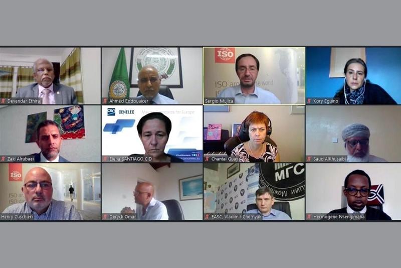هيئة التقييس تشارك في الاجتماع الاستشاري للآيزو مع المنظمات الإقليمية للتقييس